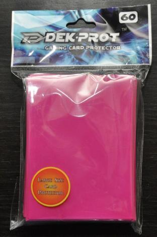 Dek-Prot Sleeves - Magic Size - 60 Count - Rose