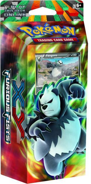 XY Furious Fists Theme Deck - Pangoro