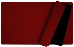 Blank Burgundy Playmat (Perfect for Custom Art Drawing)