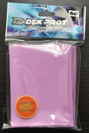Dek-Prot Sleeves - Magic Size - 60 Count - Lilac Purple