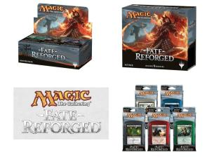 Fate Reforged - Variety Pack (1 Booster Box, 1 Fat Pack, Set of 5 Intro Packs)