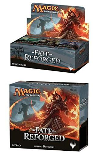 Fate Reforged Booster Box + Fat Pack Mtg Magic the Gathering