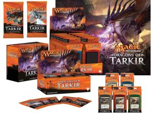 Dragons of Tarkir Variety Pack Booster Box, Fat Pack all 5 Intro Deck