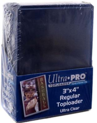 25 - Ultra Pro 3 X 4 Top Loader