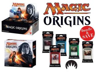 Magic Origins bundle Booster Box Fat Pack + Set of Intro Packs