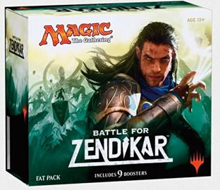 Magic the Gathering Battle for Zendikar Fat Pack