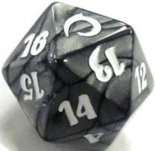 PDS Slivers Spindown Die D20