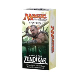 Magic the Gathering (MTG) Battle for Zendikar - Event Deck