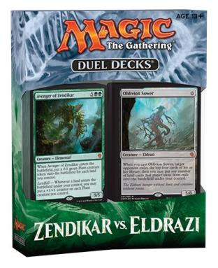 Magic the Gathering Duel Decks Zendikar vs Eldrazi