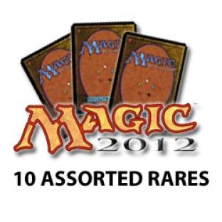 Magic 2012 Core Set - 10 Assorted Rares - Grab Bab