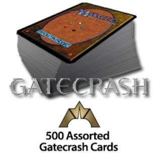 500 Assorted Gatecrash Cards
