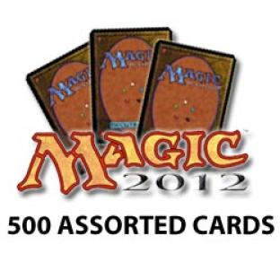 Magic 2012 Core Set - 500 Assorted Cards - Grab Bag