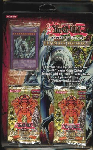 Ultimate Edition 2 Pack in English(2 Packs of Dark Revelation and Promo Card)