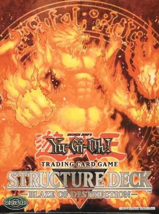 Blaze of Destruction 1st Edition Starter Deck in English