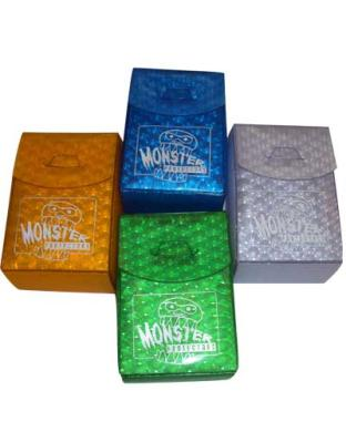 Monster Binder Deck Box - Set of Four (Green, Blue, Gold, Silver)