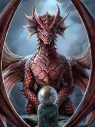 Max Protection - Dragon Oracle - Deck Box