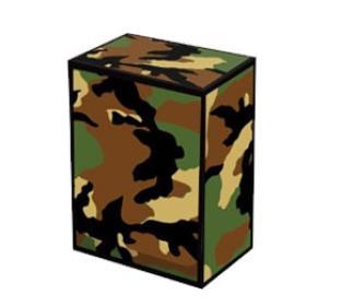 Legion Green Camo Deck Box w/Divider