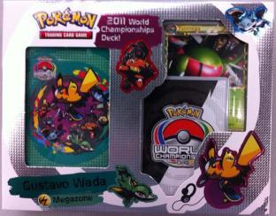 Pokemon 2011 World Championship Deck - Megazone - Gustavo Wada