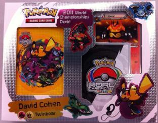 Pokemon 2011 World Championship Deck - Twinboar - David Cohen