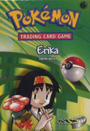Erika - Gym Heroes - Theme Deck