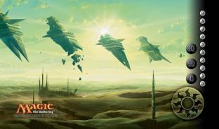 Rise of the Eldrazi Playmat - Plains