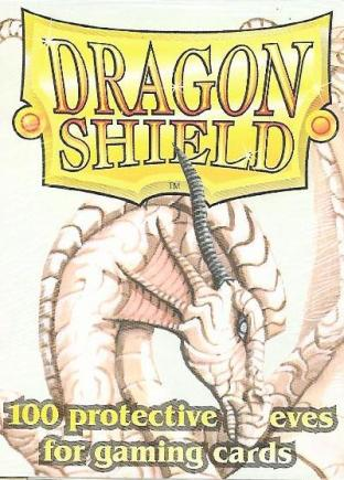 Dragon Shield Box of 100 in White (Legacy)