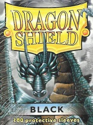 Dragon Shield Box of 100 in Black (Legacy)