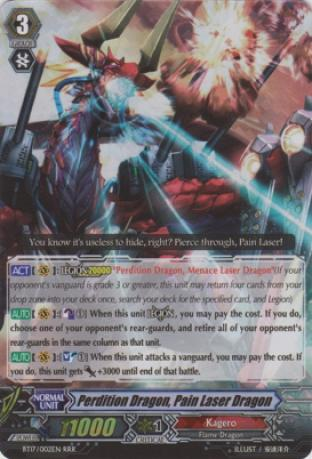 Perdition Dragon, Pain Laser Dragon