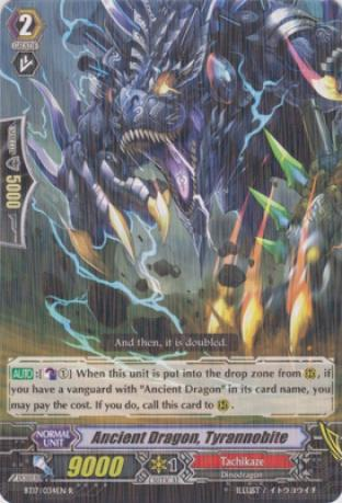 Ancient Dragon, Tyrannobite