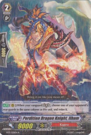Perdition Dragon Knight, Ilham