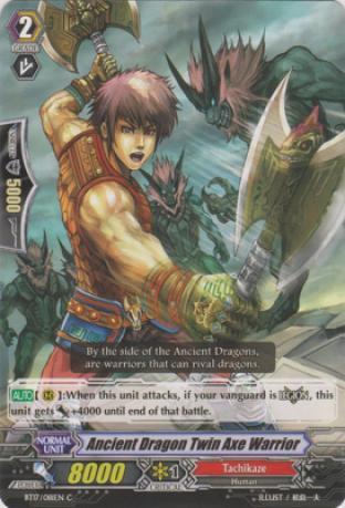 Ancient Dragon Twin Axe Warrior