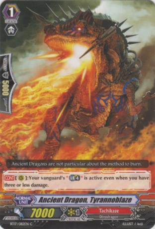 Ancient Dragon, Tyrannoblaze