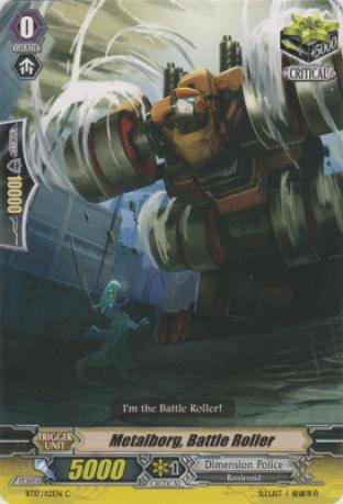 Metalborg, Battle Roller