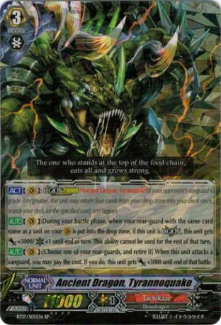 Ancient Dragon, Tyrannoquake (SP)