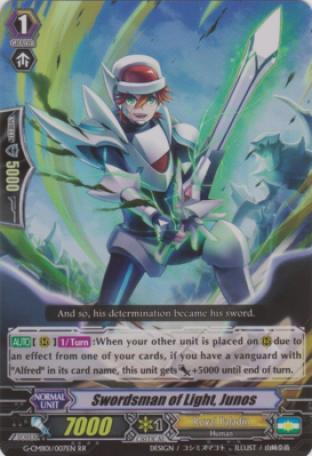 Swordsman of Light, Junos
