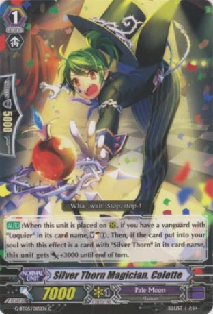 Silver Thorn Magician, Colette