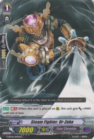 Steam Fighter, Ur-Zaba