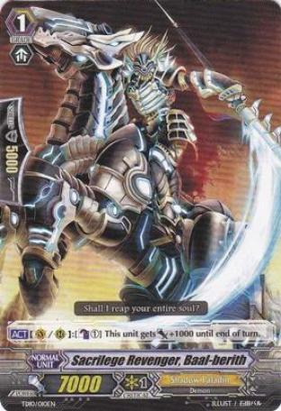 Sacrilege Revenger Baal-berith