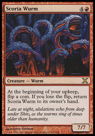 Scoria Wurm