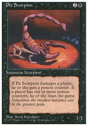 Pit Scorpion