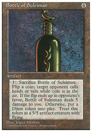 Bottle of Suleiman