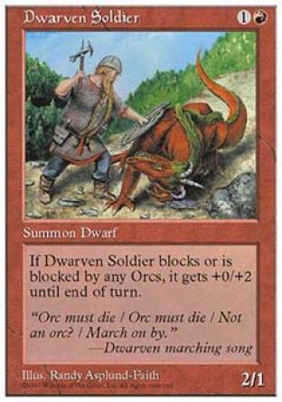 Dwarven Soldier
