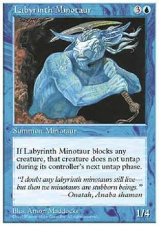 Labyrinth Minotaur