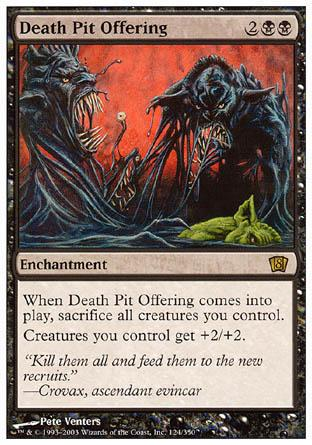 Death Pit Offering