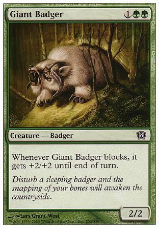 Giant Badger