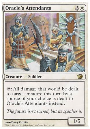 Oracle's Attendants