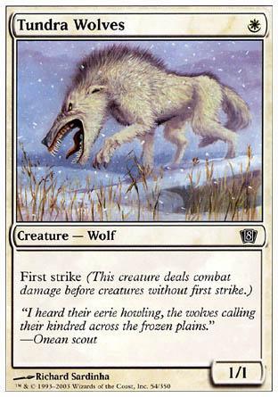 Tundra Wolves