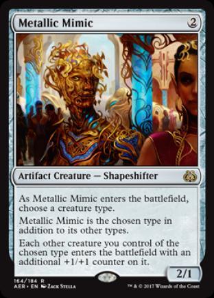 Metallic Mimic