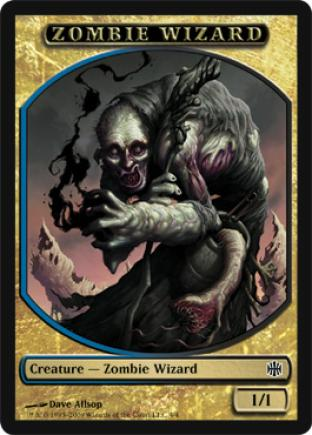 Zombie Wizard (Token)