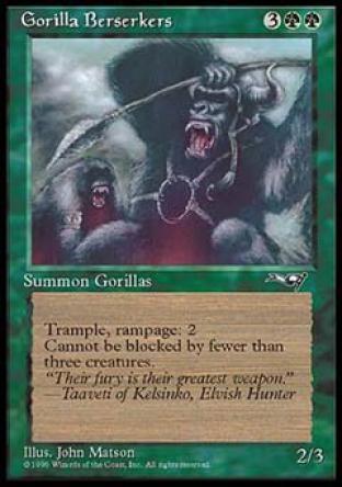 Gorilla Berserkers (1)